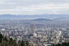 Portland, Cityscape van Oregon royalty-vrije stock foto's