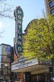 Portland de stad in - Arlene Schnitzer Concert Hall - PORTLAND - OREGON - APRIL 16, 2017 Stock Foto's