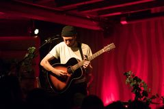 Novo Amor Performance at Doug Fir Portland Oregon royalty free stock photo