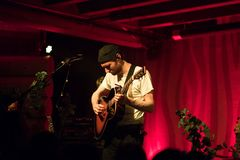 Novo Amor Performance at Doug Fir Portland Oregon stock image