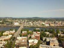 Portland del centro Oregon fotografie stock libere da diritti