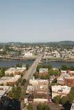 Portland del centro Oregon Fotografie Stock
