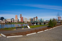 Portland downtown (Oregon state) Royalty Free Stock Image