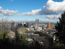 Portland Downtown Royalty Free Stock Images