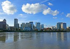 Portland Downtown Waterfront Royalty Free Stock Photography