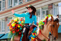 Portland Grand Floral Parade 2014 Stock Photo