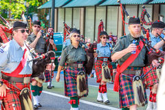 Portland Grand Floral Parade 2014 Stock Photos