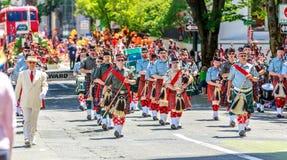 Portland Grand Floral Parade 2014 Royalty Free Stock Photos