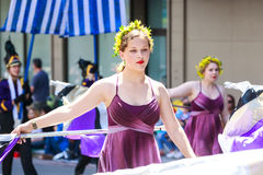 Portland Grand Floral Parade 2014 Royalty Free Stock Photography