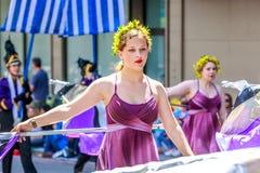 Portland Grand Floral Parade 2014 Stock Photography