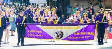 Portland Grand Floral Parade 2014 Royalty Free Stock Image