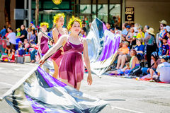 Portland Grand Floral Parade 2015 Royalty Free Stock Photography