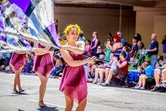 Portland Grand Floral Parade 2015 Stock Photos