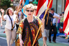 Portland Grand Floral Parade 2014 Royalty Free Stock Image