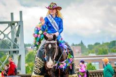 Portland Grand Floral Parade 2017 Stock Photos