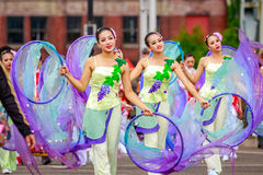 Portland Grand Floral Parade 2016 Stock Photography