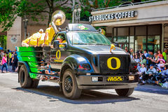 Portland Grand Floral Parade 2015 Royalty Free Stock Image