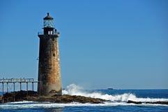Portland Harbor Lighthouse Royalty Free Stock Photo