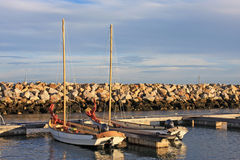 Portland Harbour Stock Photography