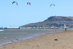 Portland Harbour, Dorset Stock Photo