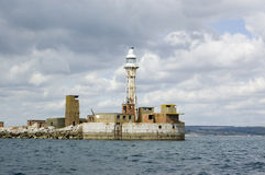 Portland Harbour Entrance Royalty Free Stock Photography