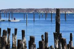 Portland harbor, Maine Stock Photography