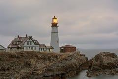 Portland Head ligh, lighthouse Stock Image