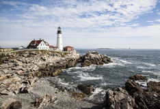 Portland Head Light Stock Photos