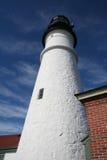 Portland Head Light. Close view of Portland Head Light, Portland, Maine, USA Stock Images
