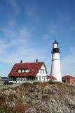 Portland Head Light. Cape Elizabeth, Maine, USA Stock Photos