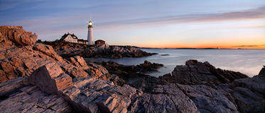 The Portland Head Light Royalty Free Stock Photography