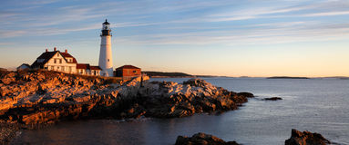 Portland Head Light Stock Image