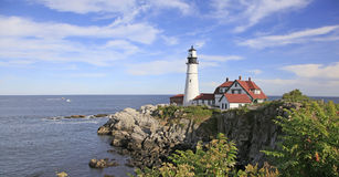 Portland Headlight Lighthouse, Maine Stock Images