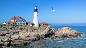 Portland Head Light House Stock Images