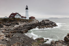 Portland Head Light lighthouse Royalty Free Stock Photo