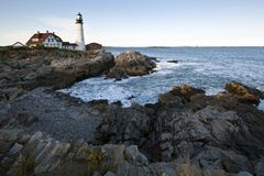 Portland head Light - Lighthouse Stock Photos