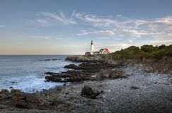 Portland head Light - Lighthouse Stock Images
