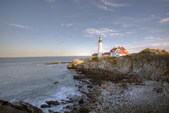 Portland head Light - Lighthouse Stock Image