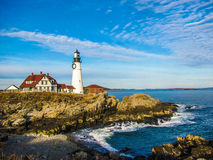 Portland Head Light in Maine Royalty Free Stock Photography