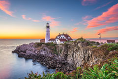 Portland Head Light stock image