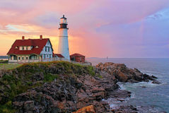 Portland Head Light Royalty Free Stock Photography