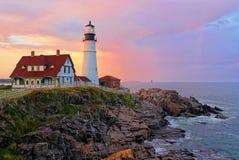 Portland Head Light royalty free stock photography