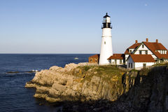 Portland Head lighthouse stock photography