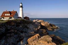 Portland Head lighthouse Royalty Free Stock Image