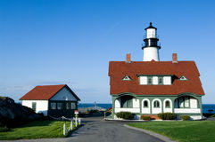 Portland Head lighthouse Royalty Free Stock Photo