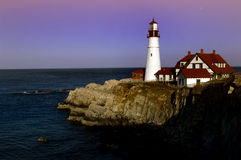 Portland Head lighthouse Stock Images