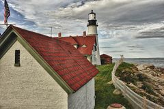 Portland Head Lighthouse Stock Photos