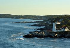 Portland Head lighthouse Royalty Free Stock Images