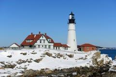 Portland Head Lighthouse, Maine Royalty Free Stock Photo