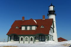 Portland Head Lighthouse, Maine Stock Images